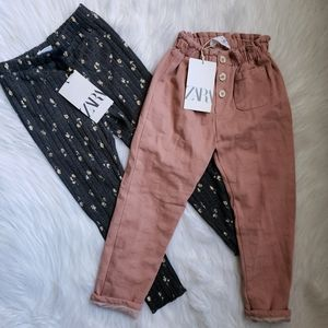 Zara Girls Pants Bundle Size 4-5T